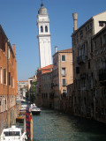 Canals everywhere - of course!!! we're in Venice