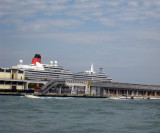 QUEEN VICTORIA:  Start of our cruise September 13, 2010