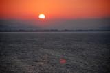 Sunrise in Greece before landing in Olympia September 15 2010