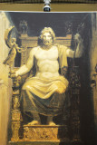 A likeness of Zeus