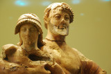 Ganymede being held by Zeus