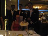 Birthday dinner on the Queen Victoria