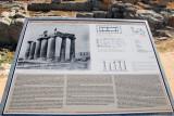 The Temple of Apollo is a Doric peripteral temple 540 BC