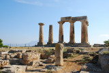 Ruins of the Temple of Apollo is a Doric peripteral temple 540 BC
