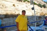 Boat ride along the Corinth Canal Greece