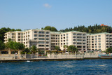 Ciragan Palace Hotel which is attached to the Ciragan Palace