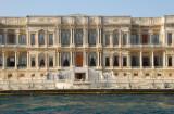 Front view of the Ciragan Palace