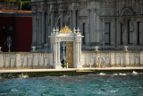 Passing the  Beylerbeyi Palace