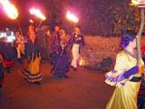 Firle Guy Fawkes  Bonfire 2010