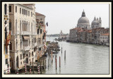 The Grand Canal down to Chiesa di Santa Maria Della Salute (detail)