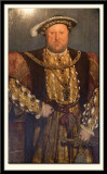 King Henry VIII a portrait after the original by Hans Holbein