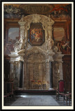 Altar-piece designed by Cibber, carved by Samual Watson and Others.