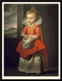 Portrait of Magdalena the artist's daughter