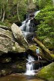 waterfall on Brooks Creek 2