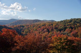 Blue Ridge Parkway Fall Color 7