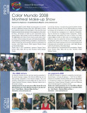 Color Mundo 2008 magazine (my photos)