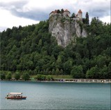 Lake Bled with Bled Castle in the background.jpg