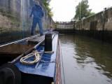 1412 River Trent Newark  Town Lock 21st October 2005.JPG
