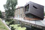 Futuristic lock cottage!