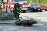 Leominster,MA-Motorcycle accident  - 9-9-06