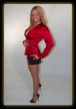 Tabitha in Red