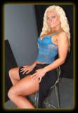 Jen in Blue Bustier