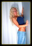 Jen in Blue Jeans & Top
