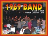 1969  Band at the French Quarter Cafe