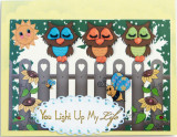 For Lawn Fawn  OWH challenge... cards for a child