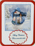 Christmas card made for OWH