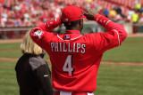 Pregame Brandon Phillips