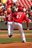 Starting pitcher Johnny Cueto