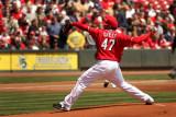 Cincinnati Reds starting pitcher Johnny Cueto