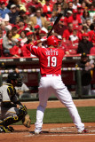 Joey Votto at bat