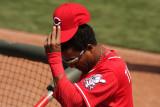 Cincinnati Reds center fielder Willie Taveras