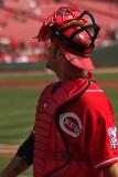 Cincinnati Reds catcher Ramon Hernandez