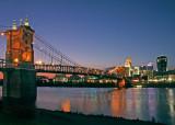 John A Roebling Suspension BridgeCincinnati Ohio