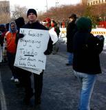 peace protester