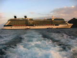Departing the Celebrity Solstice