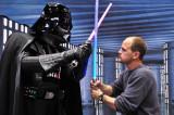 Facing down Vader