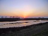 Sunset over unit 44
