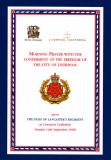 Duke of Lancaster's Regiment Order of Service