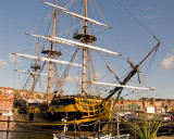 Grand Turk in Whitby Harbour
