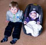 Rhys and Cerys March 2009