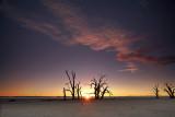 Lake Bonney Sunset