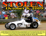 HOFFMAN SPRINT CAR AND TRAILER STOLEN