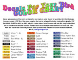 DECALS FOR YOUR BIRD COLOR CHART SCROLL DOWN TO DUPLICATE AND CLICK ON IT TO OPEN A ENLARGEABLE PDF FILE