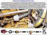 NEW AIR COMPRESSOR REMOTE AIR FILTER