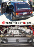 YEAH ITS GOT 1/2 A HEMI IT HAS MORE OF A HEMISPHERICAL COMBUSTION CHAMBER THAN THE NEW CHRYSLER HEMI'S