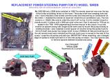 REPLACEMENT FC POWER STEERING PUMP